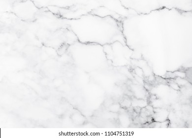White marble texture for design pattern artwork.