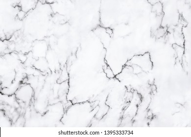 White marble texture with natural pattern for background or design art work