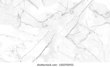 White marble texture with natural pattern for background or design art work. Natural backdrop.