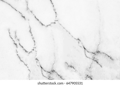 White marble texture with natural pattern for background