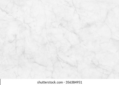 White marble texture patterned background for design.