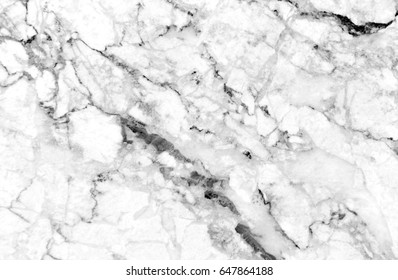 White marble texture shot through with deep veining (Natural pattern for backdrop or background, Can also be used for create surface effect to architectural slab, ceramic floor and wall tiles)