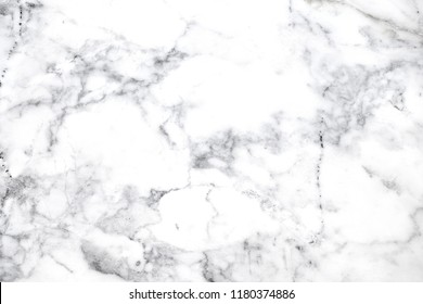White marble texture surface with beautiful natural motifs for art, design or background.