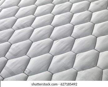 white mattress closeup detail texture