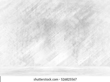 white metal interior background