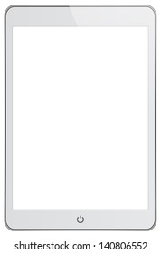 White Mini Business Tablet In iPad Style
