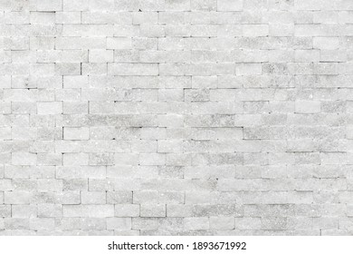 White modern decorative natural stone for inside. Panel wall small marble brick background texture, decorative pattern quartz stone mosaic. interior decoration of the room