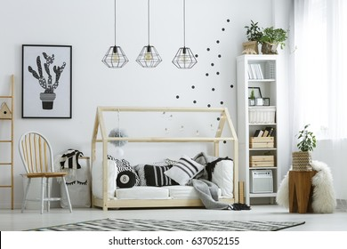 ZIGZAG Children bed SCANDINAVIAN STYLE youth bed SCANDI NEW