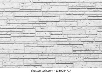 White modern wall background , White concrete tile wall pattern and background