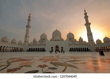 White Mosque of Abu Dhabi