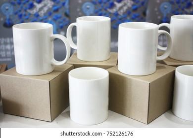 white mug cup
