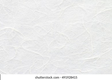 White mulberry paper texture used for a background.