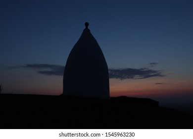 White Nancy, Bollington, Cheshire at Sunset