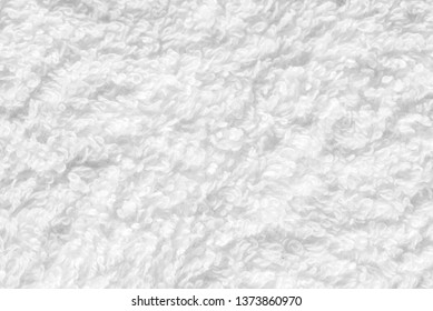 White natural cotton towel background
