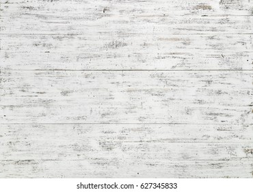 White natural wood planks aged texture background