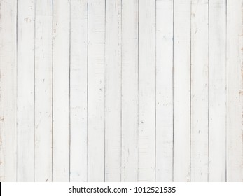 white natural wood wall texture and background,Empty surface white wooden for design,Top view white table and copy space
