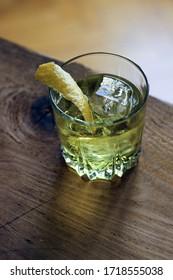 White Negroni Cocktail apéritif french
