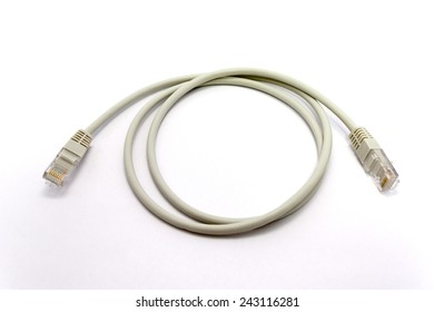 White network computer cable