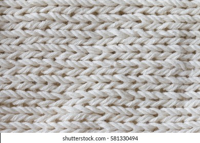 white nitted fabric textured background.nitting pattern