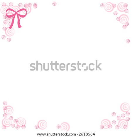 White note paper flower border bowcardclipart stock photo edit now white note paper with flower border and bowcardclip art mightylinksfo