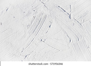 White oil painting brush strokes  texture for various backgrounds.