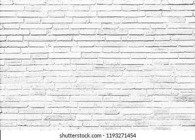 white old brick wall texture background