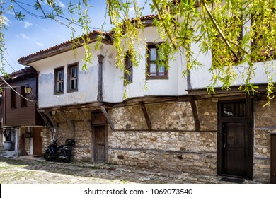 White Old house