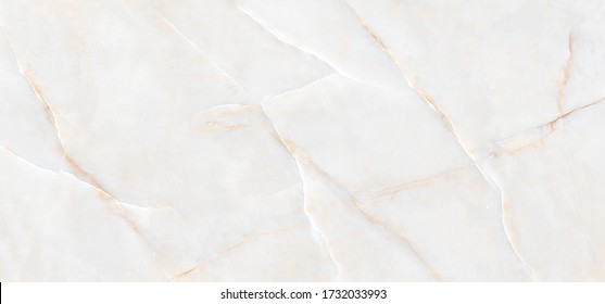 White Onyx Crystal Marble Texture with Icy Colors, Italian slab marble, Polished Quartz Stone Background, It Can Be Used For Interior-Exterior Home Decoration and Ceramic Tile Surface, Wallpaper