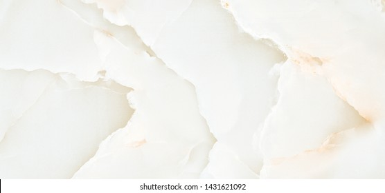 White onyx marble texture background, Cloudy curly crystal onyx for interior home decoration ceramic tile surface, Polished quartz stone background.