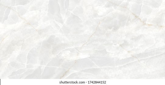 White onyx marble texture background with high resolution Italian slab marble stone texture using for interior-exterior home decoration ceramic granite tile surface.
