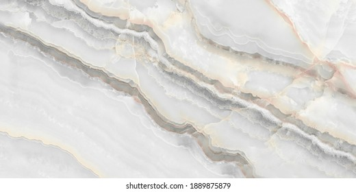 White Onyx Marble Texture, High Resolution Italian Smooth Onyx Marble Stone Background Used For Interior Exterior Home Decoration And Ceramic Granite Tiles Surface.