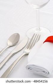 White ornamental restaurant
