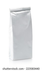 White package isolated on a white background