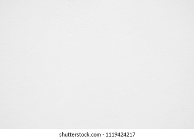 White Paint Concrete Wall Texture Background, Suitable for Awesome Presentation and Web Templates with Space for Text.