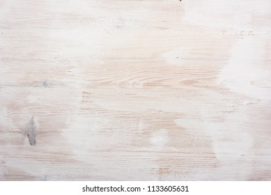 White painted background of wooden texture pattern, horizontal plates