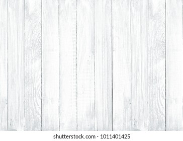 white painted empty wooden texture background