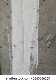 White painted gray concrete wall as background. Close up shoot