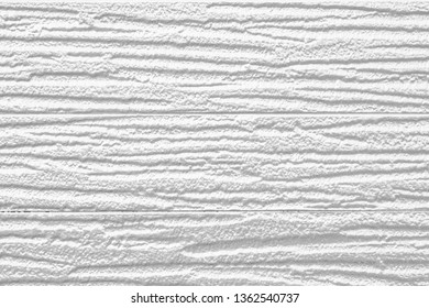 White painted plastic building wall texture and background