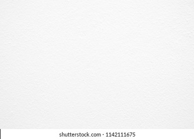 White Painting Concrete Wall Texture Background.