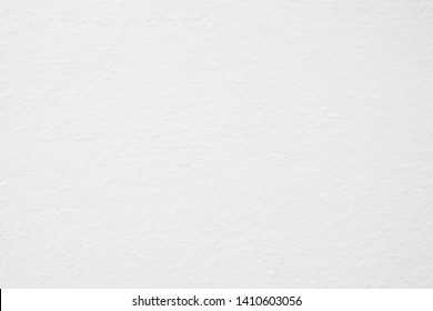 White Painting on Concrete Wall Texture Background.