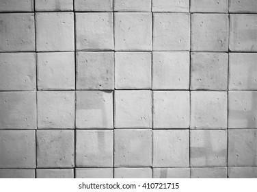 White pale interior brick wall