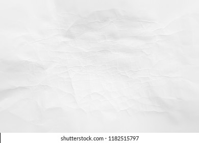 White paper crease texture for background.