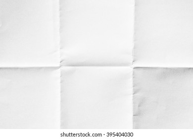 White paper folded texture background