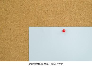 White paper on board