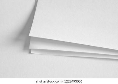 white paper sheets