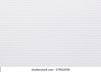 White  paper texture background. Rib parallel bands pattern. Can be used for presentation, paper texture, and web templates with space for text. High resolution photo. Close up.