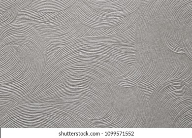 white paper texture with embossed curvy lines