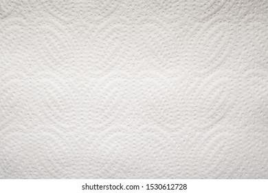 White Paper Towel Texture Background Horizontal Photo