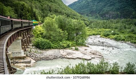 White Pass and Yukon Railway, Skagway, Alaska