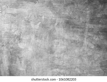 White pastel rough crack cement texture stone concrete,rock plastered stucco wall; painted flat fade background gray solid floor grain.